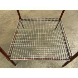 Plancher caillebotis pour miradors lagneaux